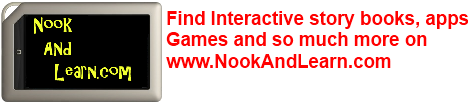 Apps for the Nook and Nook Tablet, NookAndLearn.com